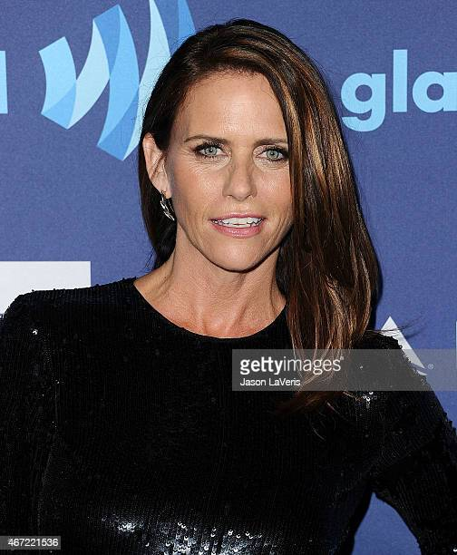 Actress Amy Landecker attends the 26th annual GLAAD Media Awards at The Beverly Hilton Hotel on March 21 2015 in Beverly Hills California