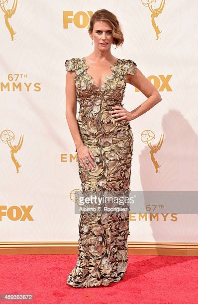 Actress Amy Landecker attends the 67th Emmy Awards at Microsoft Theater on September 20 2015 in Los Angeles California 25720_001