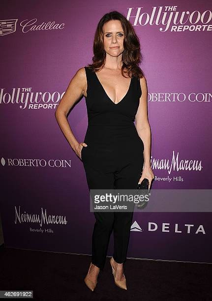 Actress Amy Landecker attends the Hollywood Reporter's 3rd annual Academy Awards nominees night at Spago on February 2 2015 in Beverly Hills...
