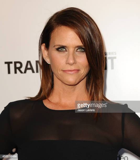 Actress Amy Landecker attends the premiere of 'Transparent' at Ace Hotel on September 15 2014 in Los Angeles California