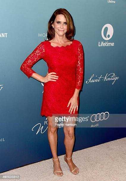 Actress Amy Landecker attends Variety's Power Of Women Luncheon at the Beverly Wilshire Four Seasons Hotel on October 9 2015 in Beverly Hills...