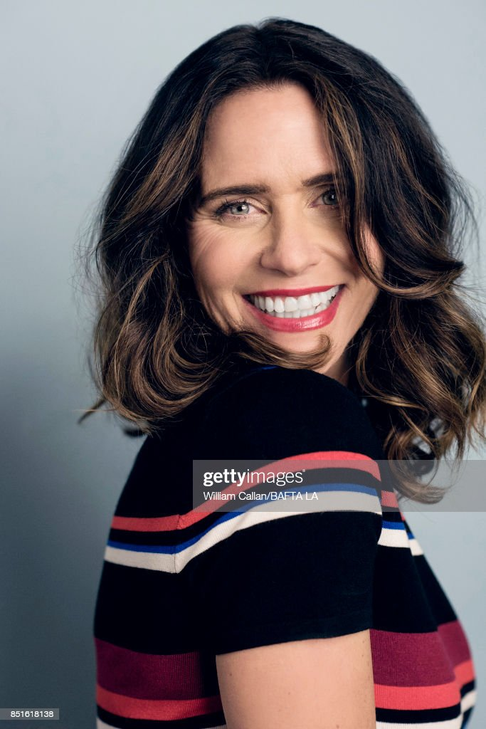 Actress Amy Landecker from 'Transparent' poses for a portrait BBC America BAFTA Los Angeles TV Tea Party 2017 at the The Beverly Hilton Hotel on September 16, 2017 in West Hollywood, California.