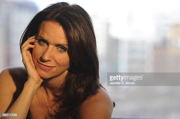 Actress Amy Landecker poses for a portrait session on January 26 New York NY Published Image