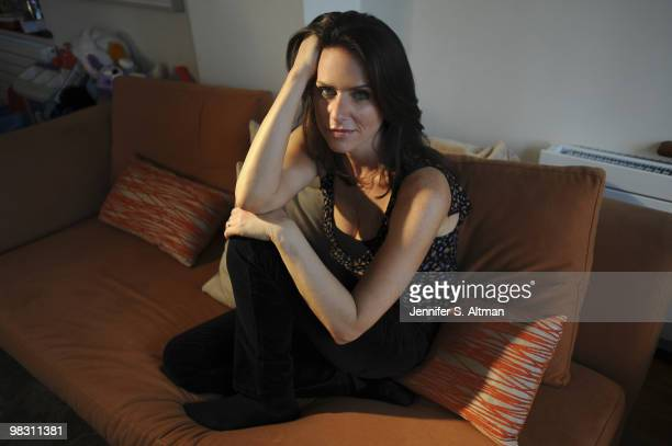 Actress Amy Landecker poses for a portrait session on January 26 New York NY
