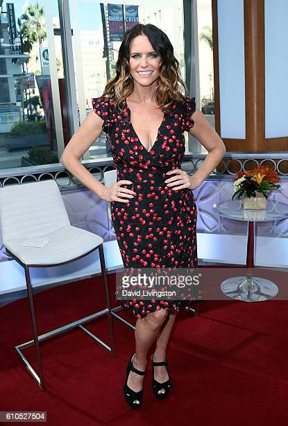 Actress Amy Landecker visits Hollywood Today Live at W Hollywood on September 26 2016 in Hollywood California