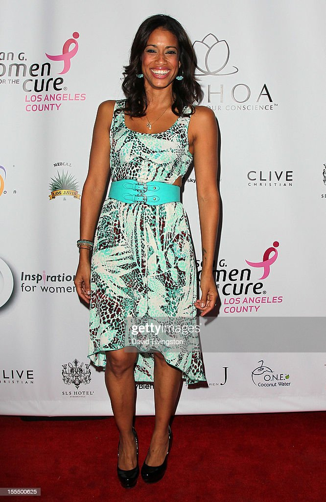 Actress Amy Lawhorn attends the 2nd Annual Inspiration Awards to benefit The Susan G. Komen For The Cure at Royce Hall, UCLA on November 4, 2012 in Westwood, California.