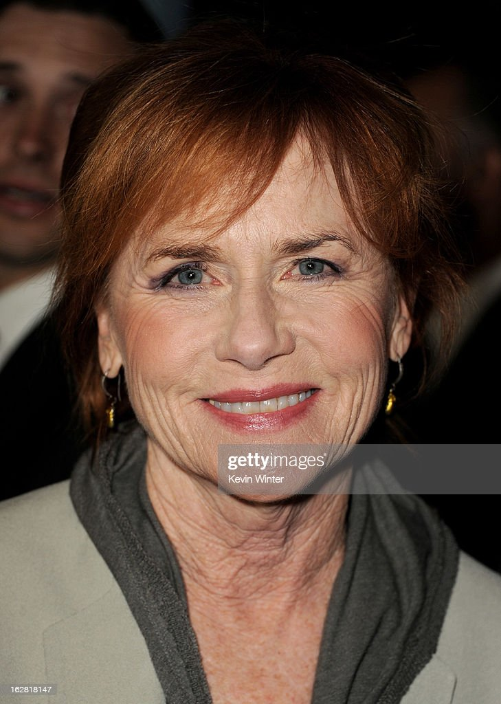 Actress Amy Madigan arrives at the premiere of 'Phantom' at the Chinese Theater on February 27, 2013 in Los Angeles, California.