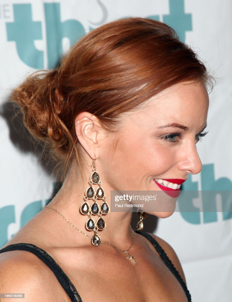 Actress <a gi-track='captionPersonalityLinkClicked' href=/galleries/search?phrase=Amy+Paffrath&family=editorial&specificpeople=2270596 ng-click='$event.stopPropagation()'>Amy Paffrath</a> arrives at The Thirst Project Annual Masquerade Dinner on October 29, 2013 in Glendale, California.