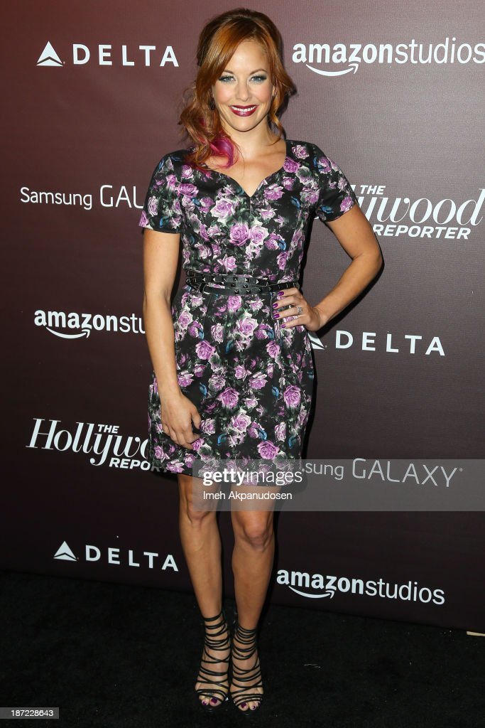 Actress <a gi-track='captionPersonalityLinkClicked' href=/galleries/search?phrase=Amy+Paffrath&family=editorial&specificpeople=2270596 ng-click='$event.stopPropagation()'>Amy Paffrath</a> attends The Hollywood Reporter's 'Next Gen' 20th Anniversary Gala at Hammer Museum on November 6, 2013 in Westwood, California.