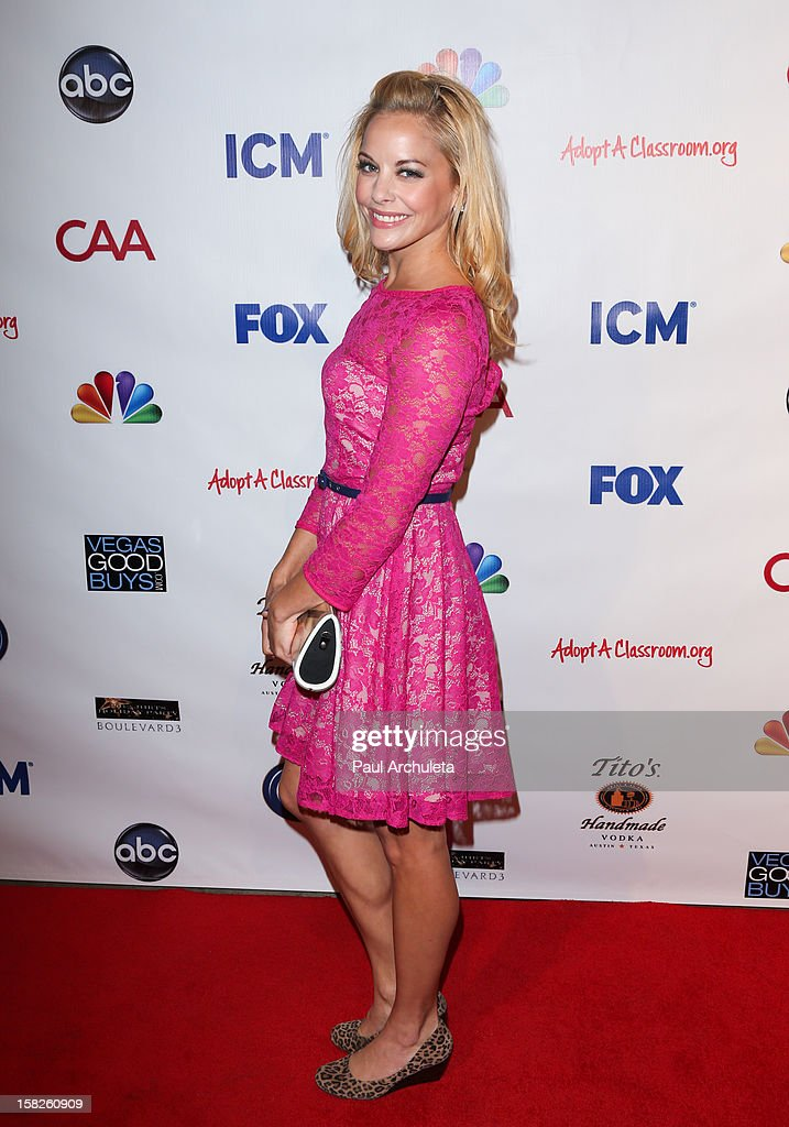 Actress Amy Paffrath attends the Junior Hollywood Radio & Television Society's 10th annual holiday party at Boulevard3 on December 11, 2012 in Hollywood, California.