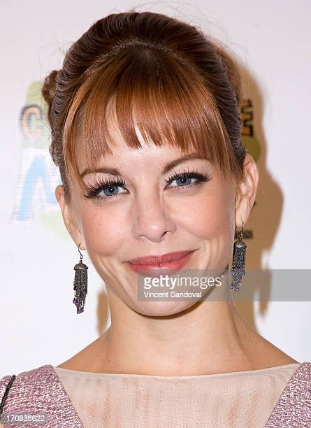 Actress Amy Paffrath attends the Los Angeles premiere of 'Chocolate Milk' at Sunday's Best Boutique on June 18 2013 in Los Angeles California