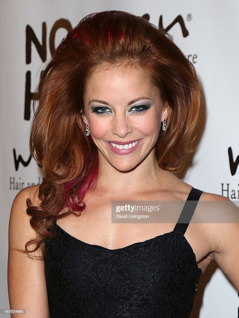 Actress <a gi-track='captionPersonalityLinkClicked' href=/galleries/search?phrase=Amy+Paffrath&family=editorial&specificpeople=2270596 ng-click='$event.stopPropagation()'>Amy Paffrath</a> attends the NOH8 Campaign 5th Anniversary Celebration at Avalon on December 15, 2013 in Hollywood, California.