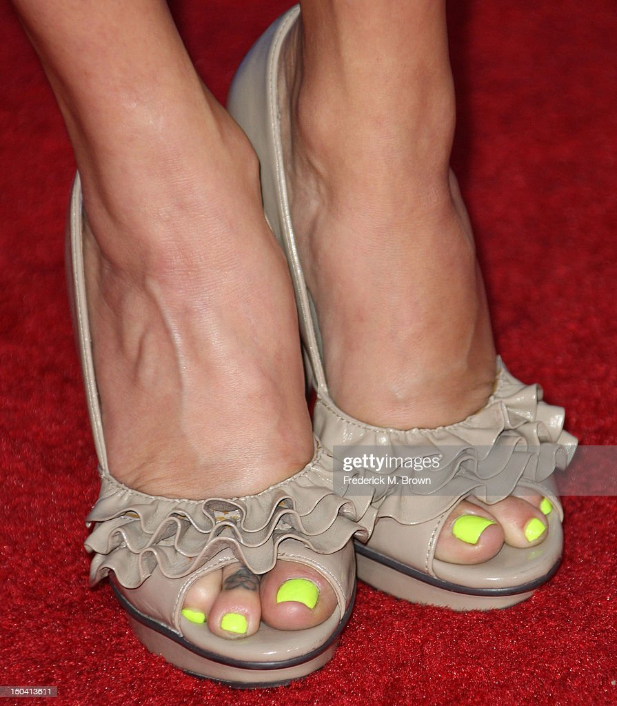 Actress Amy Paffrath attends the Premiere Of Tri-Star Pictures' 'Sparkle' at Grauman's Chinese Theatre on August 16, 2012 in Hollywood, California.