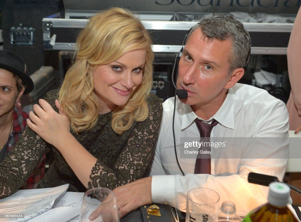 Actress Amy Poehler(L) and director Adam Shankman attend 'Trevor Live' honoring Katy Perry and Audi of America for The Trevor Project held at The Hollywood Palladium on December 2, 2012 in Los Angeles, California.