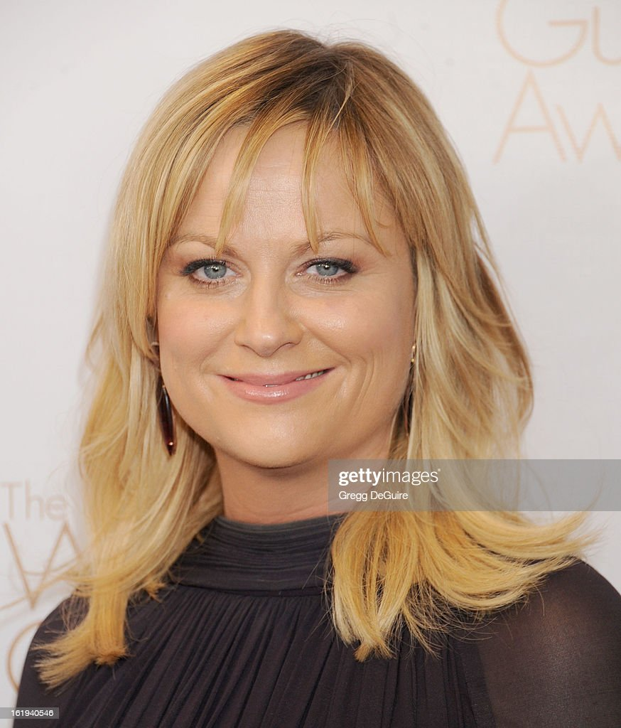 Actress <a gi-track='captionPersonalityLinkClicked' href=/galleries/search?phrase=Amy+Poehler&family=editorial&specificpeople=228430 ng-click='$event.stopPropagation()'>Amy Poehler</a> arrives at the 2013 Writers Guild Awards at JW Marriott Los Angeles at L.A. LIVE on February 17, 2013 in Los Angeles, California.