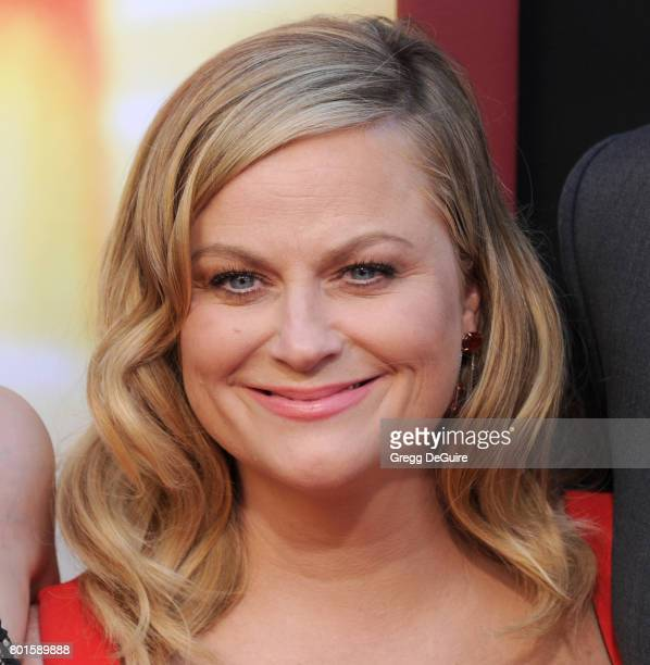 Actress Amy Poehler arrives at the premiere of Warner Bros Pictures' 'The House' at TCL Chinese Theatre on June 26 2017 in Hollywood California