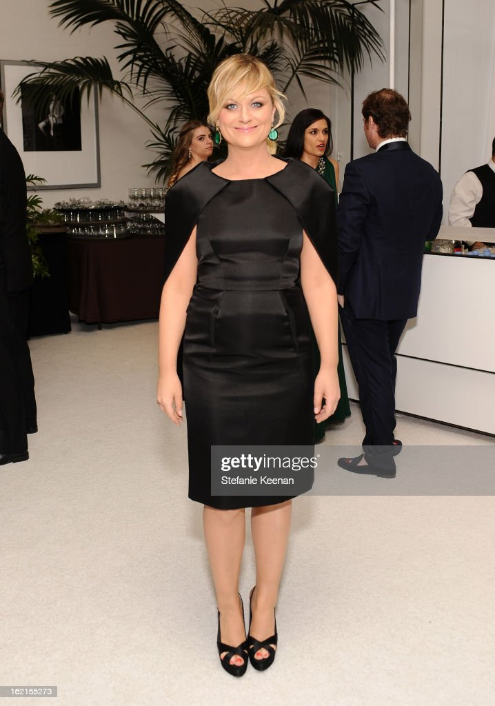 Actress <a gi-track='captionPersonalityLinkClicked' href=/galleries/search?phrase=Amy+Poehler&family=editorial&specificpeople=228430 ng-click='$event.stopPropagation()'>Amy Poehler</a> attends the 15th Annual Costume Designers Guild Awards with presenting sponsor Lacoste at The Beverly Hilton Hotel on February 19, 2013 in Beverly Hills, California.
