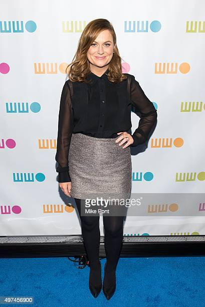 Actress Amy Poehler attends the 2015 Worldwide Orphan Gala at Cipriani Wall Street on November 16 2015 in New York City