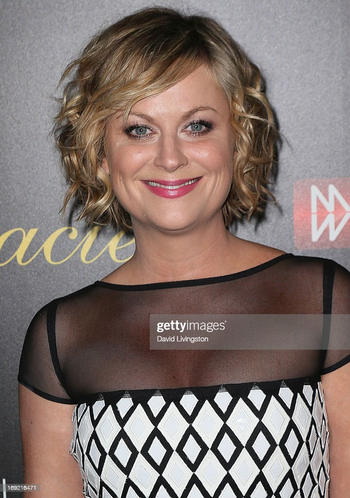 Actress <a gi-track='captionPersonalityLinkClicked' href=/galleries/search?phrase=Amy+Poehler&family=editorial&specificpeople=228430 ng-click='$event.stopPropagation()'>Amy Poehler</a> attends the 38th Annual Gracie Awards Gala at The Beverly Hilton Hotel on May 21, 2013 in Beverly Hills, California.