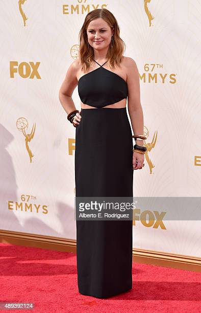 Actress Amy Poehler attends the 67th Emmy Awards at Microsoft Theater on September 20 2015 in Los Angeles California 25720_001