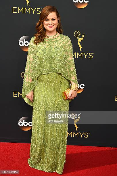 Actress Amy Poehler attends the 68th Annual Primetime Emmy Awards at Microsoft Theater on September 18 2016 in Los Angeles California