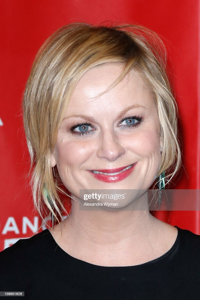 Actress <a gi-track='captionPersonalityLinkClicked' href=/galleries/search?phrase=Amy+Poehler&family=editorial&specificpeople=228430 ng-click='$event.stopPropagation()'>Amy Poehler</a> attends the 'A.C.O.D' Premiere during the 2013 Sundance Film Festival at Eccles Center Theatre on January 23, 2013 in Park City, Utah.