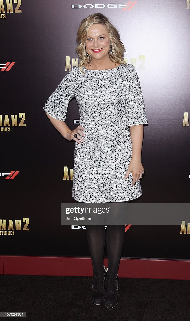 Actress Amy Poehler attends the 'Anchorman 2: The Legend Continues' U.S. premiere at Beacon Theatre on December 15, 2013 in New York City.