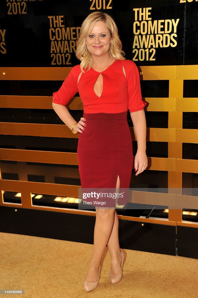 Actress <a gi-track='captionPersonalityLinkClicked' href=/galleries/search?phrase=Amy+Poehler&family=editorial&specificpeople=228430 ng-click='$event.stopPropagation()'>Amy Poehler</a> attends The Comedy Awards 2012 at Hammerstein Ballroom on April 28, 2012 in New York City.