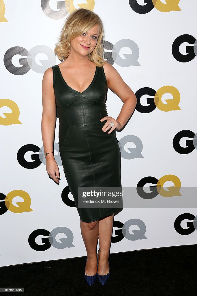 Actress <a gi-track='captionPersonalityLinkClicked' href=/galleries/search?phrase=Amy+Poehler&family=editorial&specificpeople=228430 ng-click='$event.stopPropagation()'>Amy Poehler</a> attends the GQ Men Of The Year Party at The Ebell Club of Los Angeles on November 12, 2013 in Los Angeles, California.