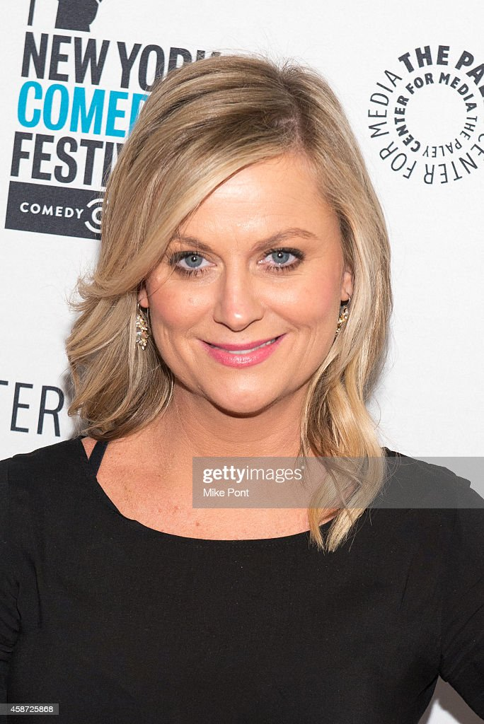 Actress Amy Poehler attends the 'Id Isn't Always Pretty An Evening With Broad City' Panel Discussion at The Paley Center for Media on November 9 2014...