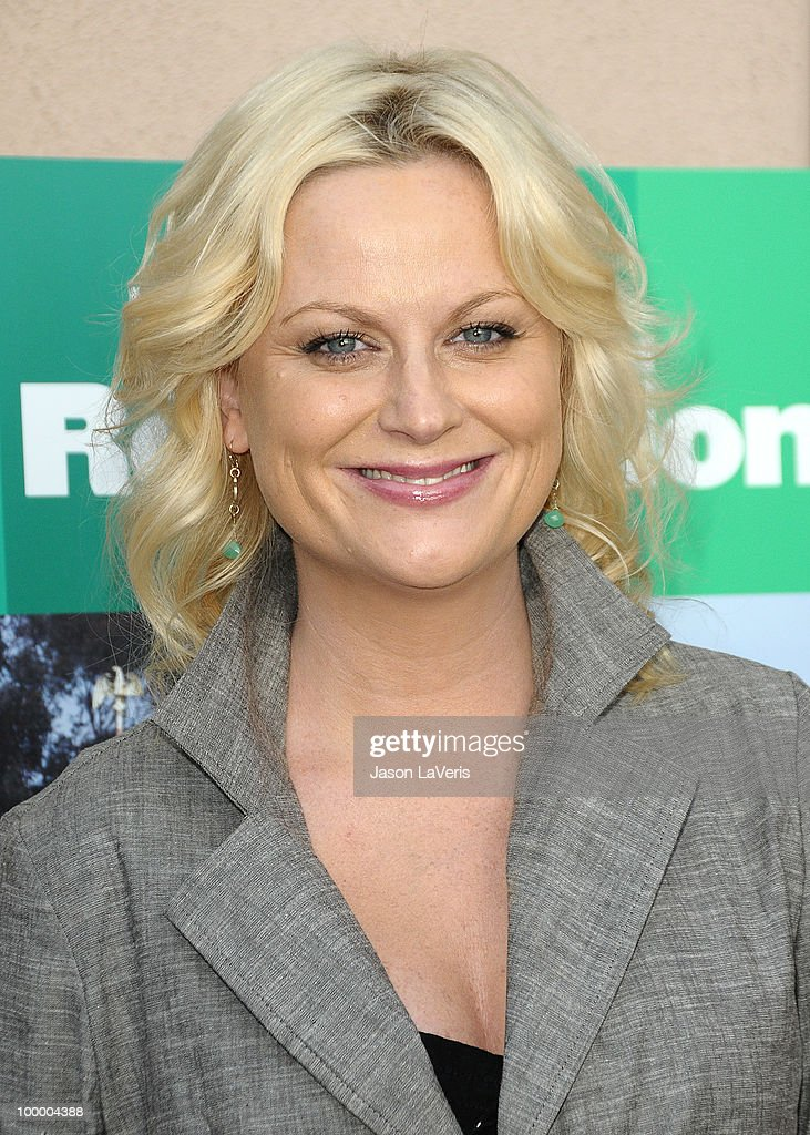 Actress Amy Poehler attends the 'Parks And Recreation' Emmy screening at Leonard H. Goldenson Theatre on May 19, 2010 in North Hollywood, California.
