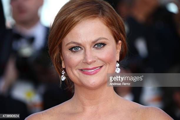 Actress Amy Poehler attends the Premiere of 'Inside Out' during the 68th annual Cannes Film Festival on May 18 2015 in Cannes France