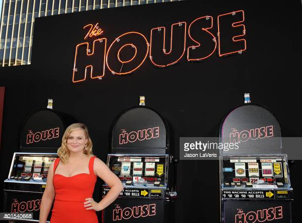 Actress Amy Poehler attends the premiere of 'The House' at TCL Chinese Theatre on June 26 2017 in Hollywood California
