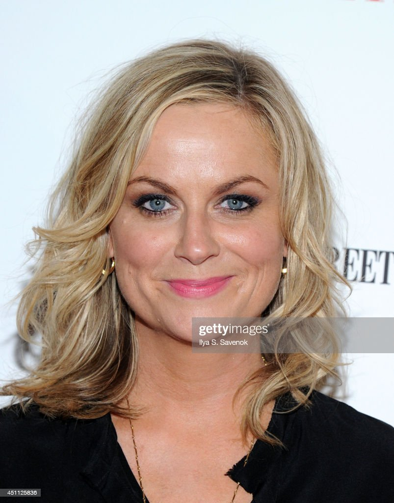 Actress Amy Poehler attends the 'They Came Together' screening during theBAMcinemaFest 2014 at BAM Harvey Theater on June 23 2014 in New York City