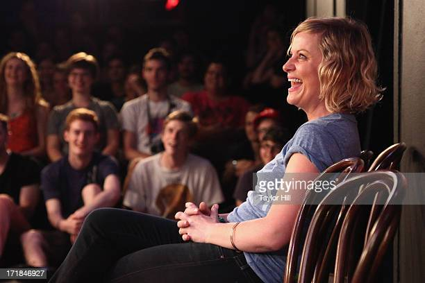 Actress Amy Poehler attends The Upright Citizens Brigade Theatre Presents The 15th Anniversary Del Close Improv at Upright Citizens Brigade Theatre...