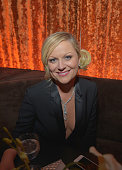 Actress Amy Poehler attends The Weinstein Company's 2013 Golden Globe Awards After Party presented by Chopard held at The Old Trader Vic's at The...