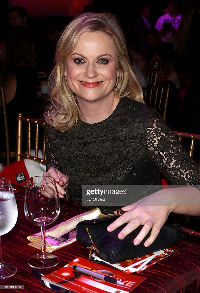 Actress <a gi-track='captionPersonalityLinkClicked' href=/galleries/search?phrase=Amy+Poehler&family=editorial&specificpeople=228430 ng-click='$event.stopPropagation()'>Amy Poehler</a> attends 'Trevor Live' honoring Katy Perry and Audi of America for The Trevor Project held at The Hollywood Palladium on December 2, 2012 in Los Angeles, California.