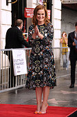 Actress Amy Poehler is honored with a star on the Hollywood Walk of Fame on December 3 2015 in Hollywood California