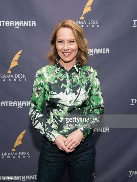 Actress Amy Ryan attends the 2017 Drama Desk Nominees Reception at Marriott Marquis Times Square on May 10 2017 in New York City
