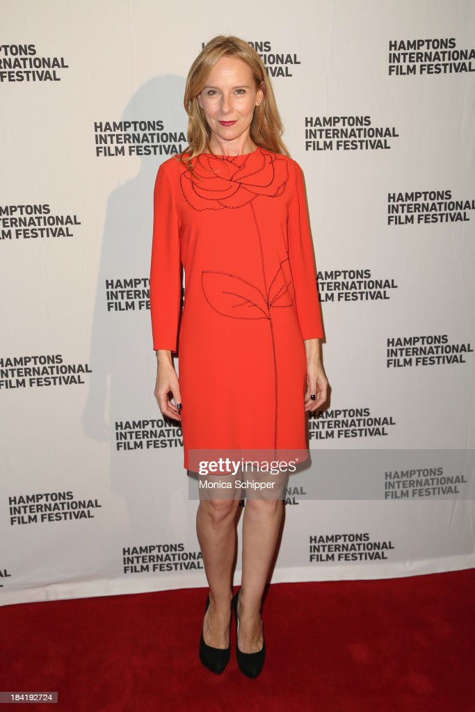Actress <a gi-track='captionPersonalityLinkClicked' href=/galleries/search?phrase=Amy+Ryan&family=editorial&specificpeople=227236 ng-click='$event.stopPropagation()'>Amy Ryan</a> attends the 21st Annual Hamptons International Film Festival on October 11, 2013 in East Hampton, New York.