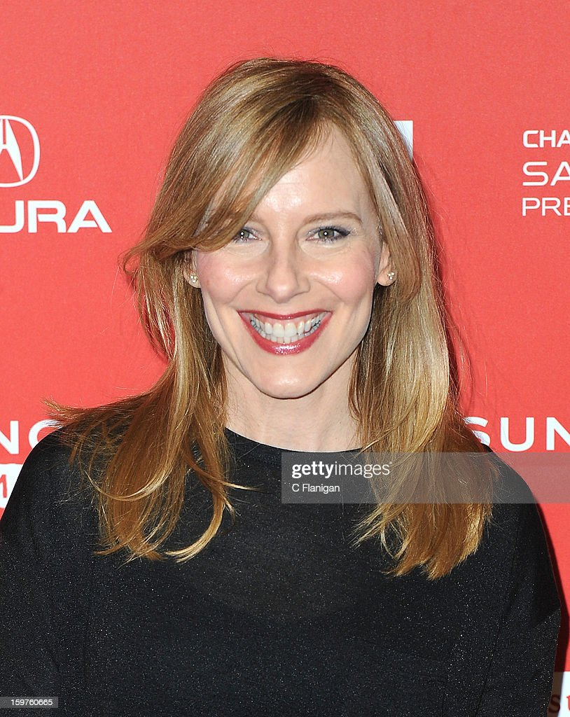 Actress Amy Ryan attends the 'Breathe In' premiere at Eccles Center Theatre during the 2013 Sundance Film Festival on January 19, 2013 in Park City, Utah