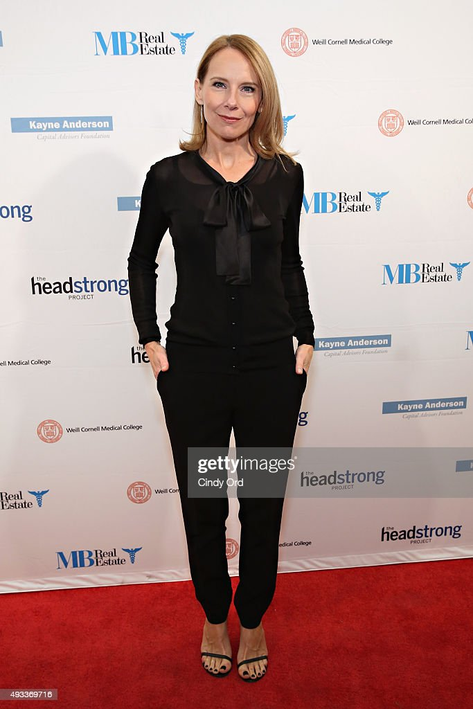 Actress Amy Ryan attends The Headstrong Project's 3rd annual Words of War event at One World Trade Center on October 19, 2015 in New York City.