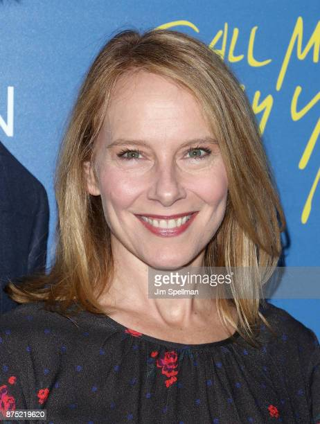 Actress Amy Ryan attends the screening of Sony Pictures Classics' 'Call Me By Your Name' hosted by Calvin Klein and The Cinema Society at Museum of...
