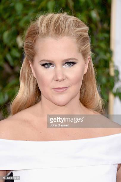 Actress Amy Schumer attends the 73rd Annual Golden Globe Awards held at the Beverly Hilton Hotel on January 10 2016 in Beverly Hills California