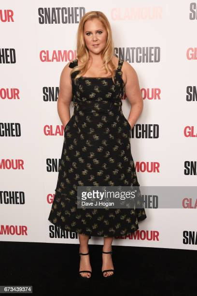 Actress Amy Schumer attends the screening of 'Snatched' at Soho Hotel on April 26 2017 in London United Kingdom