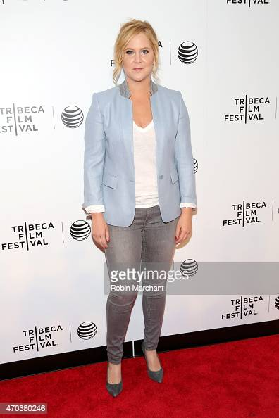 Actress Amy Schumer attends Tribeca Talks After the Movie Inside Amy Schumer during the 2015 Tribeca Film Festival at Spring Studio on April 19 2015...