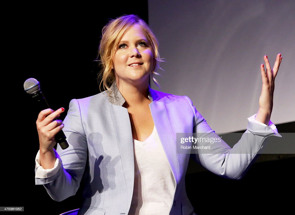 Actress Amy Schumer speaks at Tribeca Talks: After the Movie: Inside Amy Schumer during the 2015 Tribeca Film Festival at Spring Studio on April 19, 2015 in New York City.