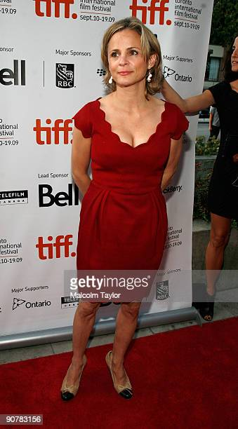 Actress Amy Sedaris arrives at the 'Tanner Hall' screening during the 2009 Toronto International Film Festival held at Isabel Bader Theatre on...