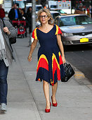 Actress Amy Sedaris arrives to 'Late Show With David Letterman' at the Ed Sullivan Theater on November 2 2011 in New York City