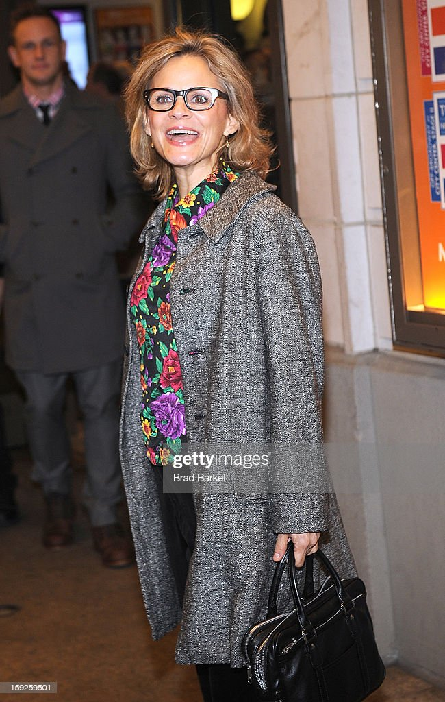 Actress Amy Sedaris attends 6th Annual Cinema Eye Honors For Nonfiction Filmmaking at Museum of the Moving Image on January 9, 2013 in New York City.